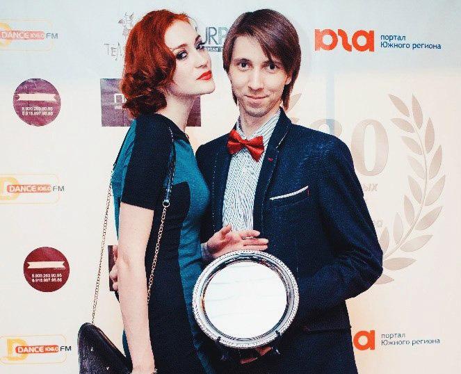 """Премия """"30 успешных людей Краснодара"""" в номинации """"Семейный бизнес"""""""