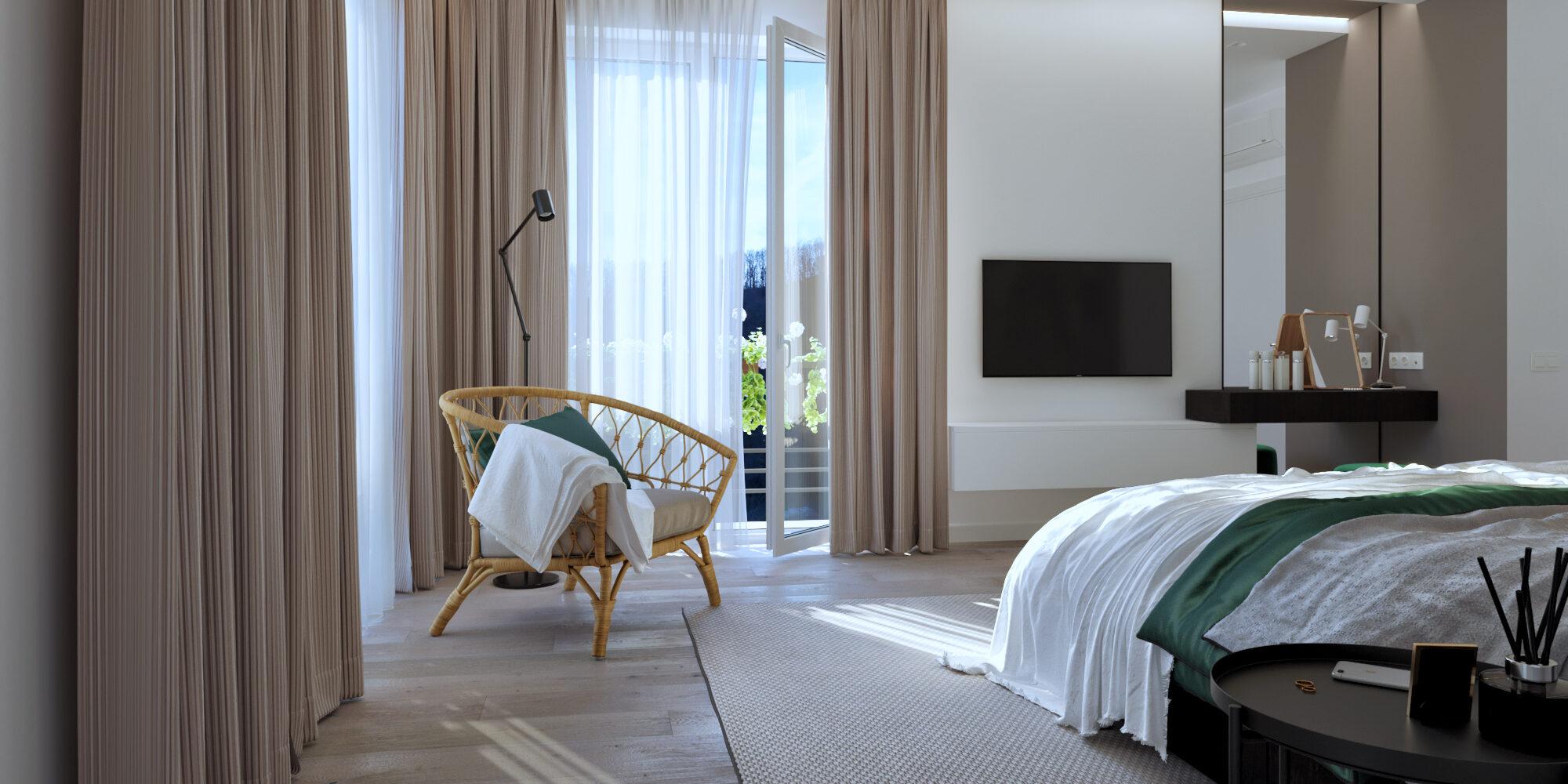 Интерьер дома с современном стиле