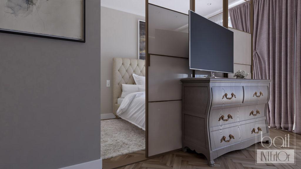 дизайн интерьера квартиры - студии
