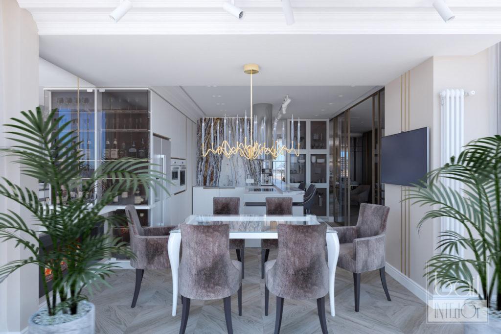 Интерьер трехкомнатной квартиры в Краснодаре