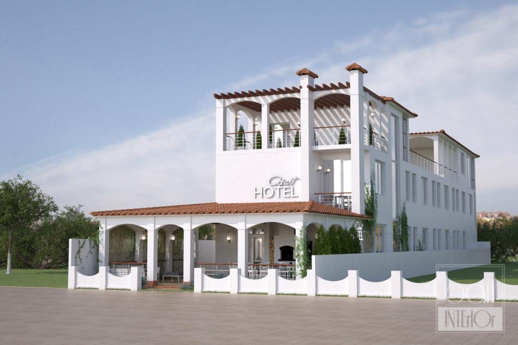 дизайн проект гостиницы