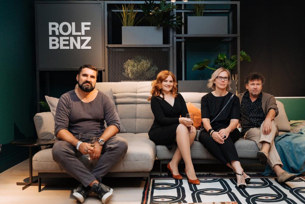 Закрытая презентация для дизайнеров ROLF BENZ