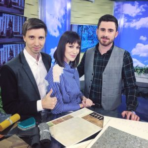 В программе «Утро Кубань 24» — дизайнеры домашнего интерьера Сергей и Ксения Плотниковы.