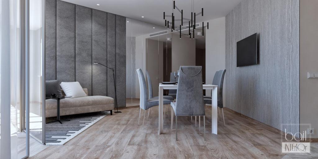 Дизайн интерьера трехкомнатной квартиры для молодого парня