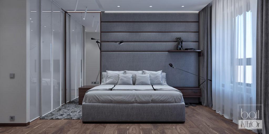 дизайн интерьера спальни для молодого человека