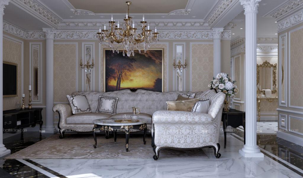 дизайн классического интерьера