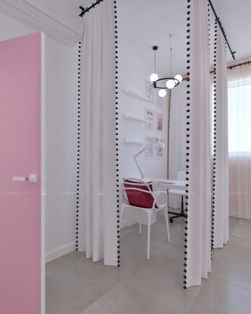 дизайн интерьера маникюрного салона
