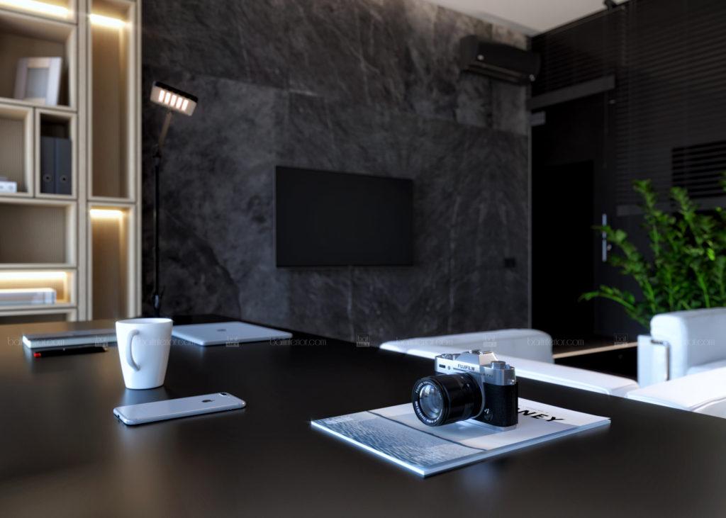 дизайн интерьера современного кабинета
