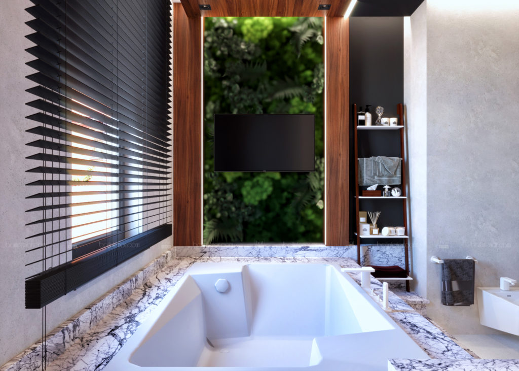 дизайн современной ванной