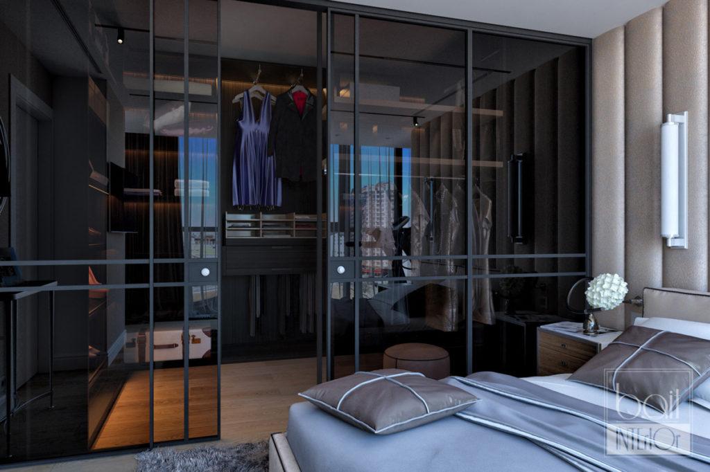 прозрачный гардероб