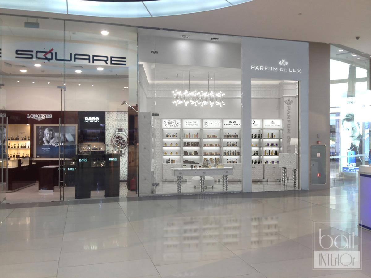 Дизайн проект магазина парфюмерии в ТРК OZ mall