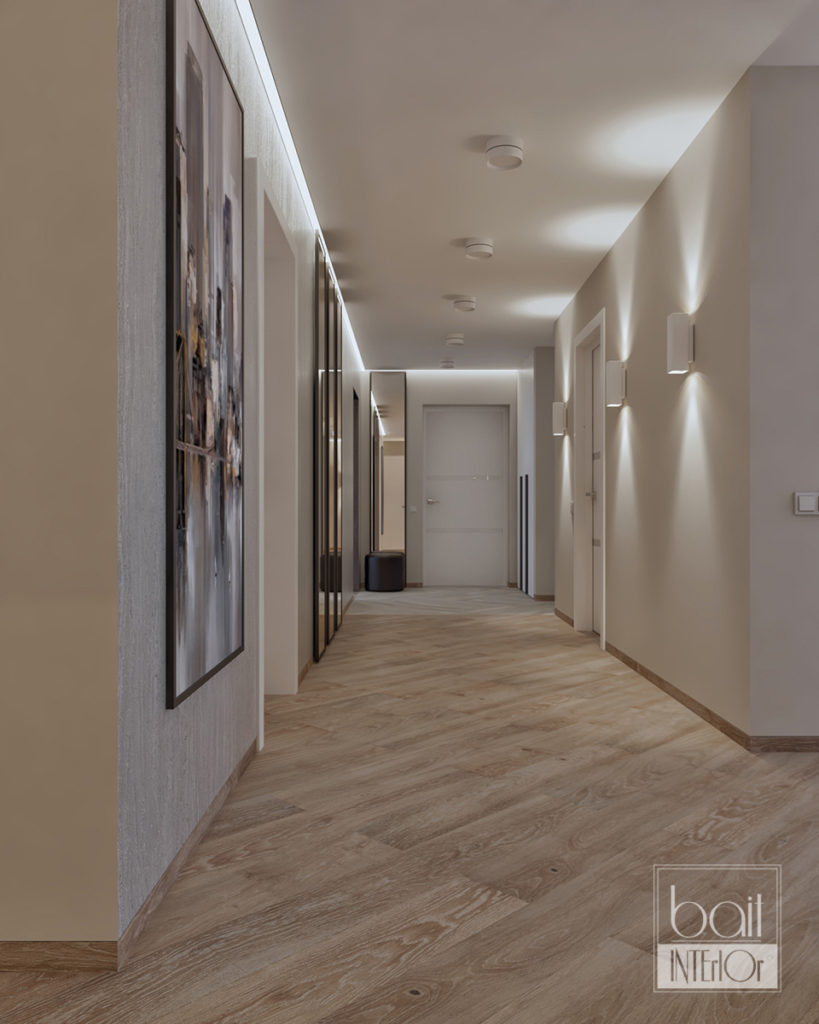 интерьер коридора